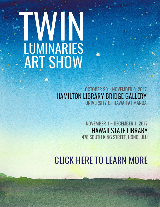 Twin Luminaries Art Show