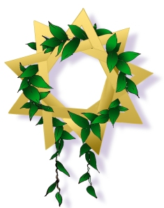 Gold Star Maile Lei - Baha'i Faith Bicentennary